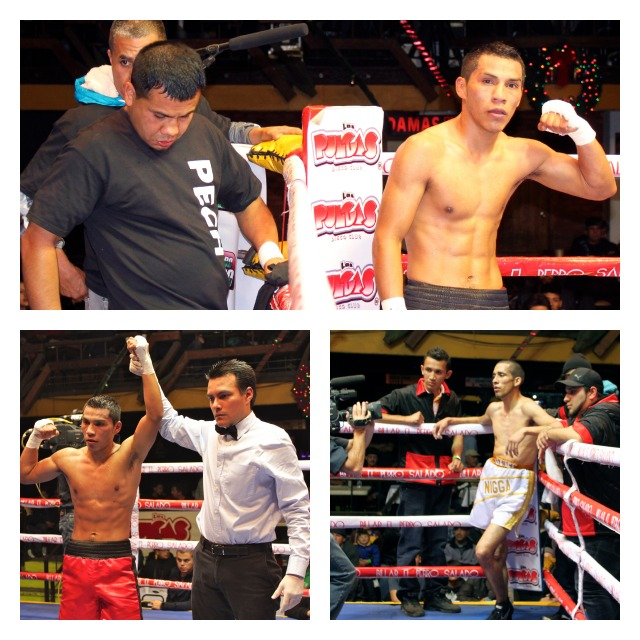 Jose Pech (1-2) persevered to get his first win by decision over the tall, lefty Cristian Renteria who was making his long awaited pro-debut.