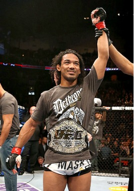 "UFC selects Benson Henderson as their ""Top Fighter of the Year""."