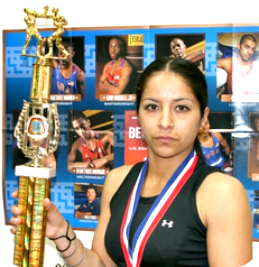 "Since 2007, Maria ""Maggie"" Suarez has won more than her share of trophies from the Golden Gloves tournament to the USA Amateur shows."