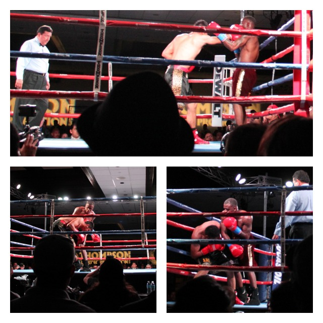 Bout 2 Collage Joshua Conley over Juan Carlos Rojas