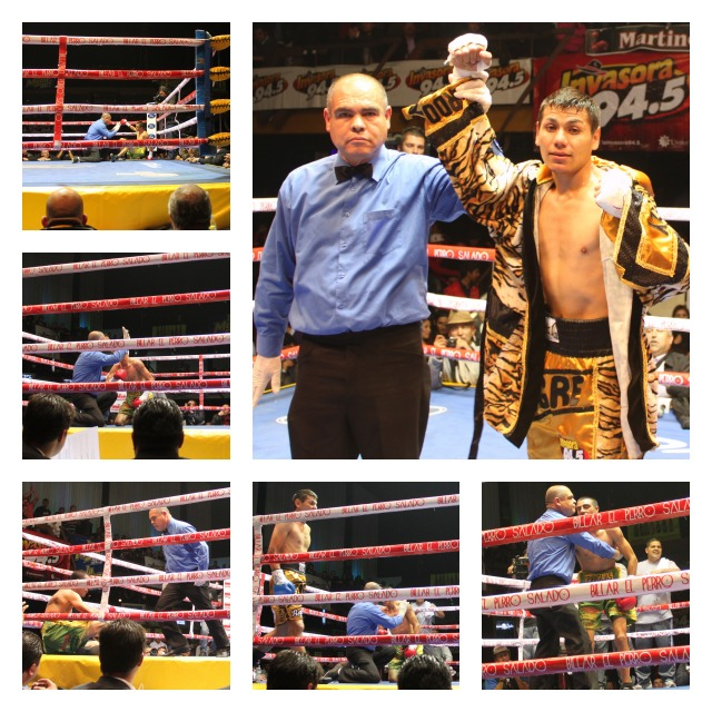 Down four times in Bout #10, Jesus Lopez just didn't want to give in to the hard punching Jose Cayetano