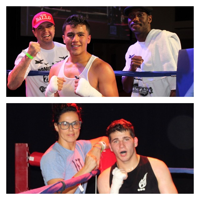In Bout #15, it was Gabriel Hernandez (top photo) getting the win over Hussein Fakhereddine (bottom photo).