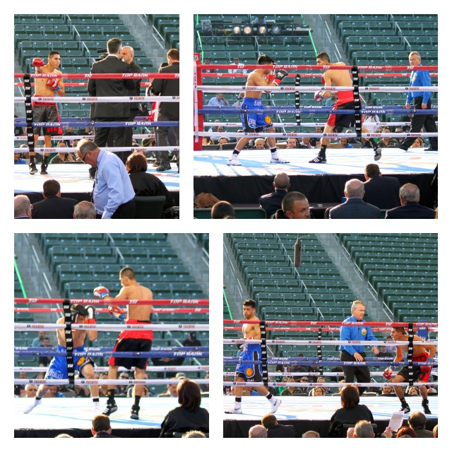 Bout #4 featured Gabino Saenz over Cesar Valenzuela