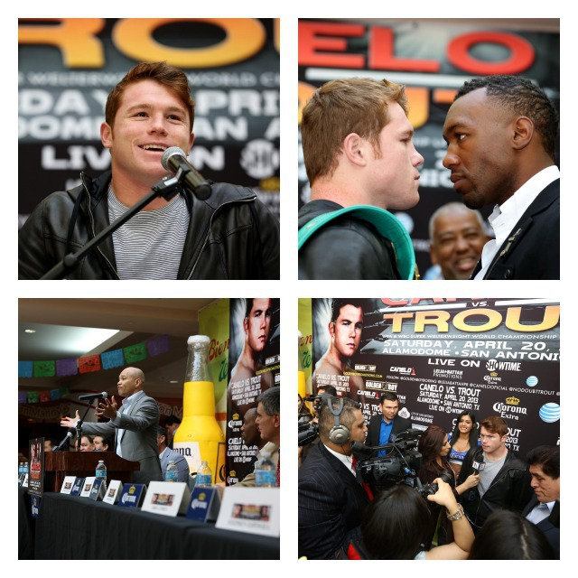Press conference CaneloCollage