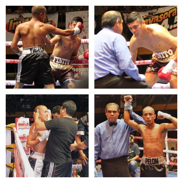 In the end it was Victor Ruiz having his arm raised in victory by referee Juan Jose Ramirez.