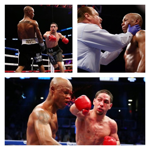 Danny Garcia fighting 2 Collage