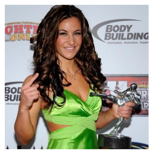 Like Liz Carmouche, Miesha Tate can turn heads when she dresses up in formal wear.  Here we see Miesha Tate arrives at the third annual Fighters Only World Mixed Martial Arts Awards 2010 at the Palms Casino Resort December 1, 2010 in Las Vegas. Photo: Ethan Miller/Getty Images