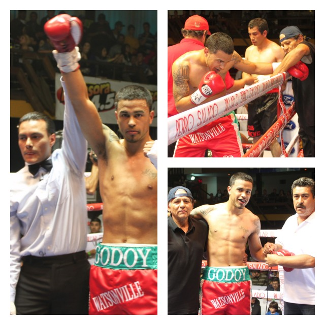 Bout 2 b Oscar Godoy over Alehandro Alonso Collage
