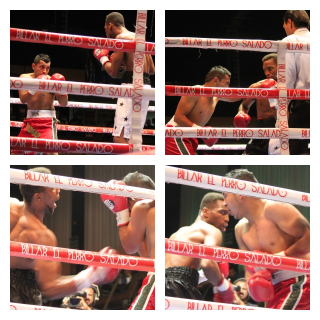 """Leon """"The Third Generation"""" Spinks (4-0-1, 3 KOs) of Huntington Beach, CA was in town for a similar easy win. His opponent, Enriquez """"Cid"""" Guzman"""
