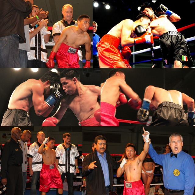 """Jonathan """"Johnny Boy"""" Quiroz (5-1-0, 1 KO) after defeating Jesus Sandoval for the second time, has been getting better and better."""