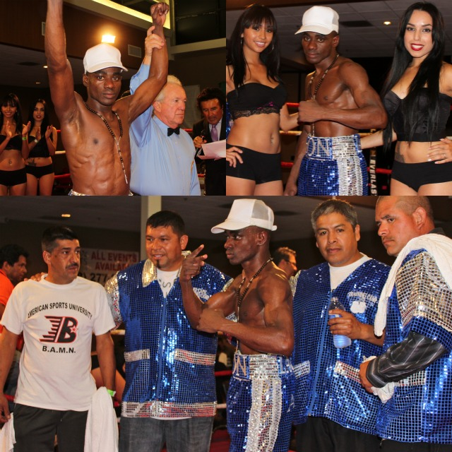 John Amuzu (14-0-0, 13 KOs) had his KO streak broken by the always tough Juanito Rubillar.