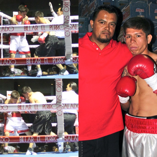 Prior to his fight versus Luis Ambrosia, Jonathan Varela and his coach had high hopes of winning. This was to be his night. And then before he knew Ambrosia had pinned him in the corner and the referee was calling for the stoppage.