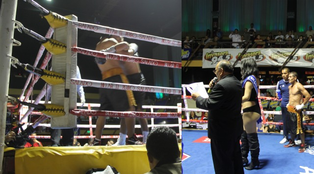 Jose Pech versus Jose Caravantes of Tijuana
