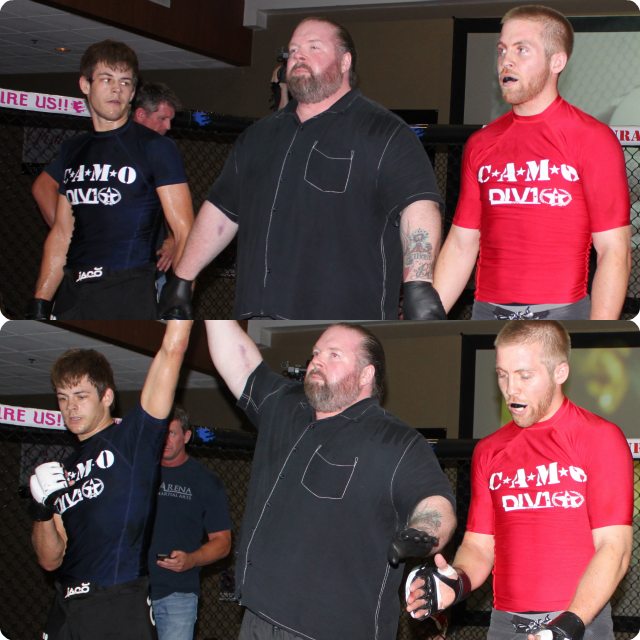 """David Fabian (2-0) of Adrenaline Combat Sports, Redlands, CA going up against 5'11"""", 23 year-old Tyler Sidders"""