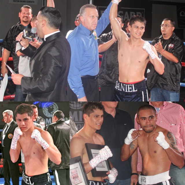 "Daniel ""The Baby Faced Assassin"" Roman (7-1-1, 2 KOs) and Manuel ""El Terco"" Ruvalcaba (1-5) was almost a replica of the Santillan win."