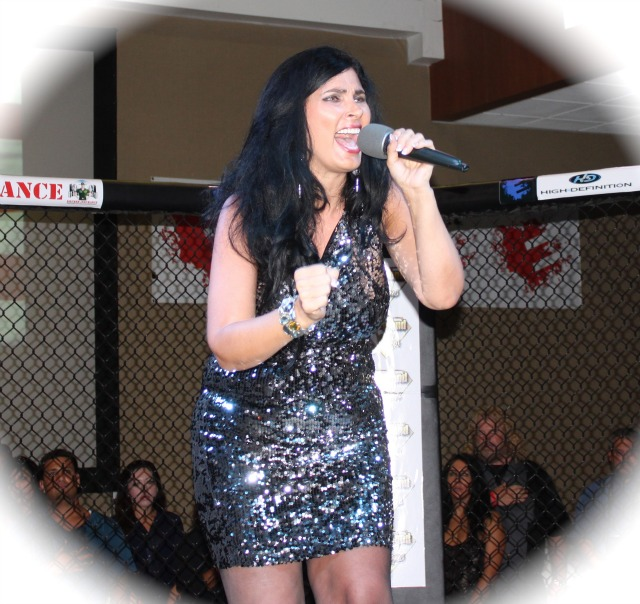 They say she does it all. The professional model/fashion director, entertainment coordinator/spokes host/actor and singer, TammieStarr sang our National Anthem.