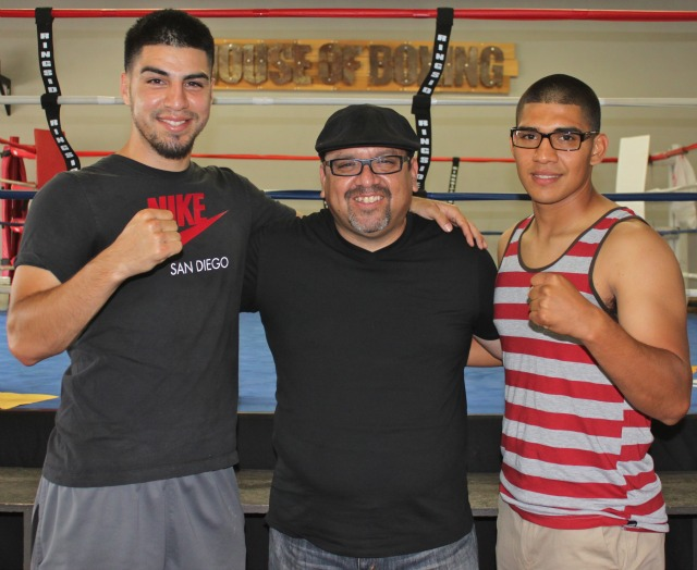 David Barragan, Carlos Barragan Jr., Antonio Orozco.