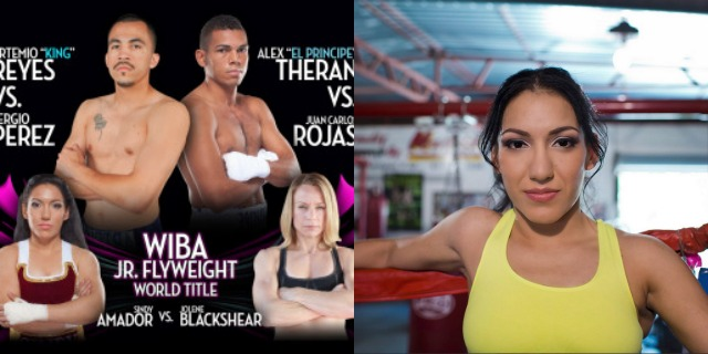 Sindy Amador vs Jolene Blackshear