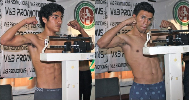 Bout #10 has Marino Canete going up against Julio Nino Castillo (1-1)