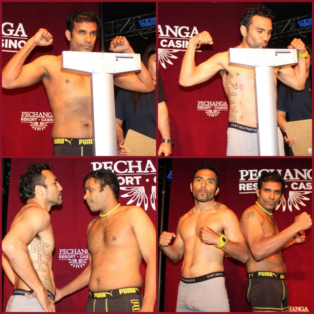 (top photos) Rajesh Narine (l) will be taking John Vargas (r).