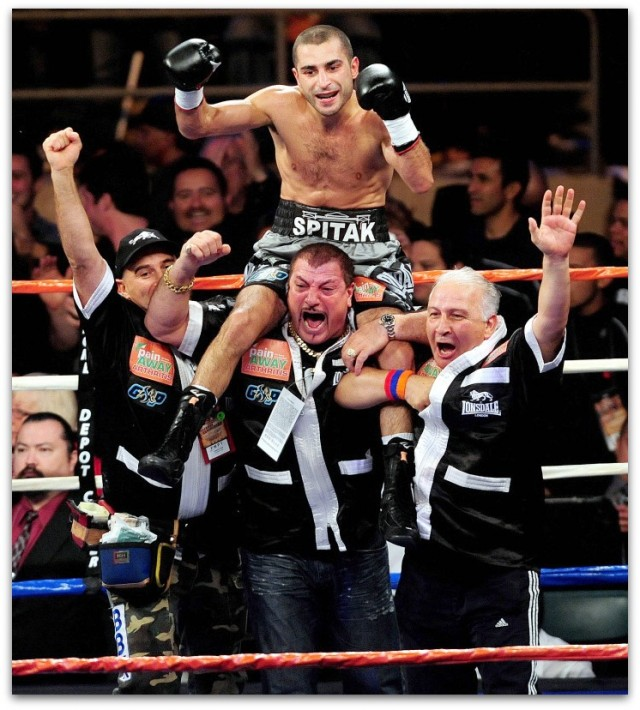 Since winning a title is every boxer's dream, it's only natural that Vic Dar support staff is going to be elated as well.