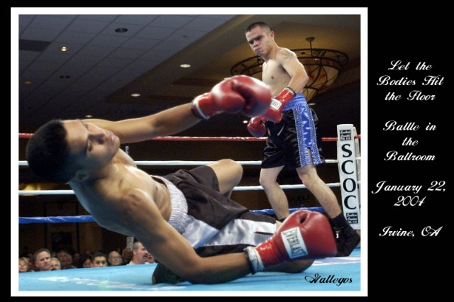 #1 photo - You talk about the perfect timing for a fight photo - here it is.