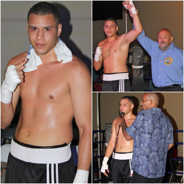 With the win, Ulises Sierra's record now improves to 4-0-1 with 3 KOs.