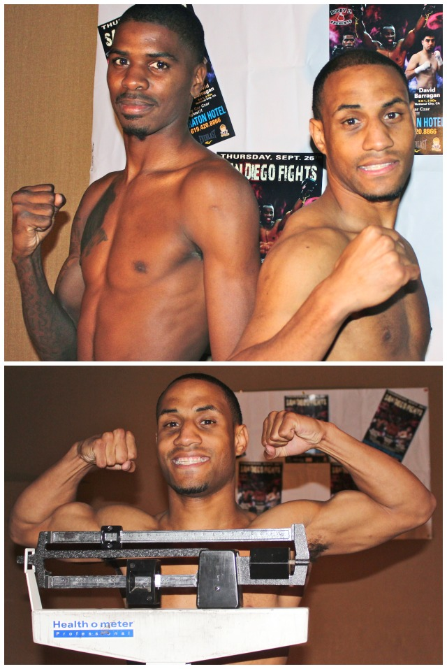 (top) Maurice Hooker (l0 and Rynell Griffin (r)