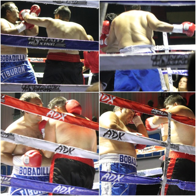 One of the bouts that had everyone talking was the heavyweight clash between Juan Manuel Buffalo Dominguez over Victor TiburonBobadilla of Rosarito