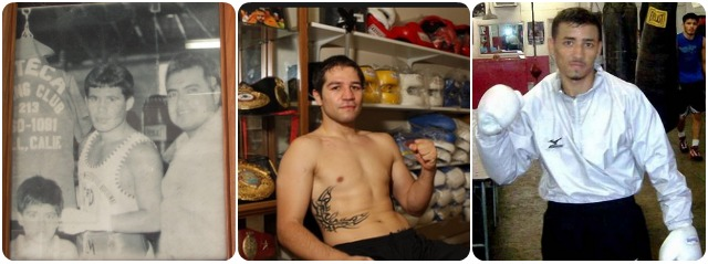 The following photos were taken of the boxing icons who trained at the storied Azteca Boxing Club in Bell, CA.