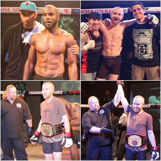 "Bout #10 featured 23 year-old David Fabian (3-1), an up and comer, challenging the 31 year-old Jacobe ""The Problem"" Powell (4-3) for his lightweight title,"