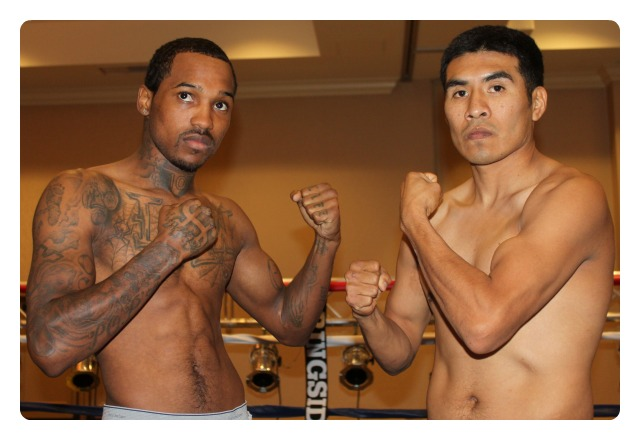 On Thursday evening in the Main Ballroom of the Crowne Plaza Hanalei Hotel will be the latest Bobby D Presents Boxing Show featuring Aaron Garcia (r) and Kevin Hoskins (l) in the Main Event. All photos: Jim Wyatt