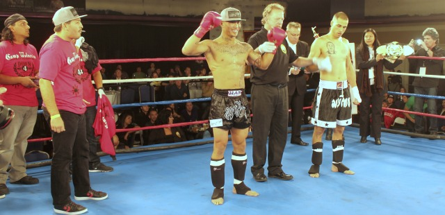 Welterweight Title match featured Daniel Valdez (8-4, 148.5 lbs.) getting the TKO win over Paul Silva