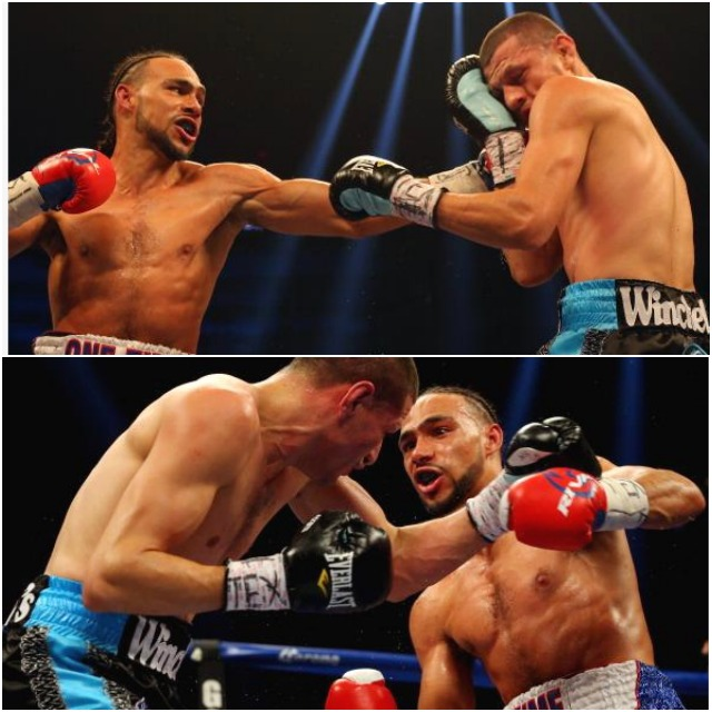 Keith Thurman middleCollage