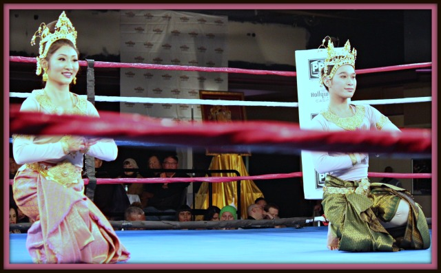 In celebration of his Majesty King Bhumibol Adulyadej, the King of Thailand Thai dancers performed at the Hollywood Park Casino