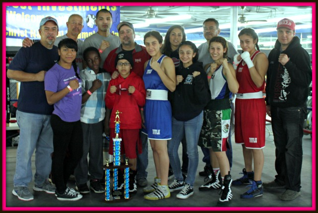 This year's Boxers for Christ top Boxing Team Overall Team Championship is the