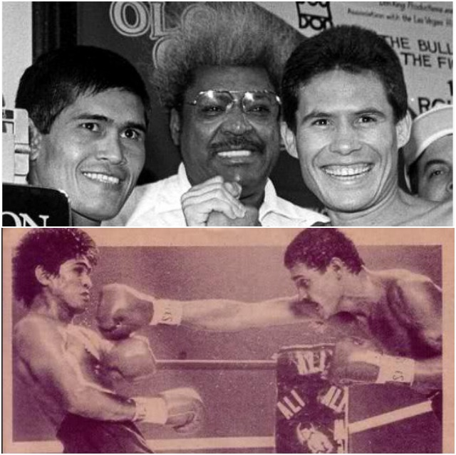 "Over a career that spanned 17 years, Ramirez's dad had a remarkable record of 102-9-0, with 82 KOs). Less we forget, this Hall of Famer faced such notables as Pernell Whitaker, Julio Cesar Chavez, Ruben Olivares, Hector Macho Camacho, Cornelius Boza-Edwards, Terrence Ali, Edwin Rosario, Alexis Arguello and Ray ""Boom-Boom"" Mancini."