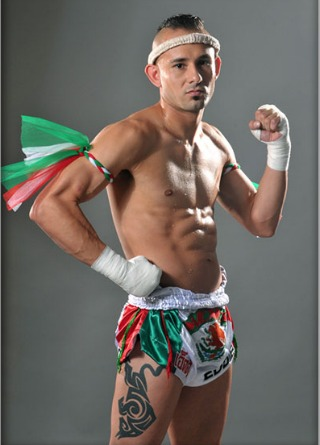 Muay Thai fighter and instructor plus gym owner Eddie Roa.