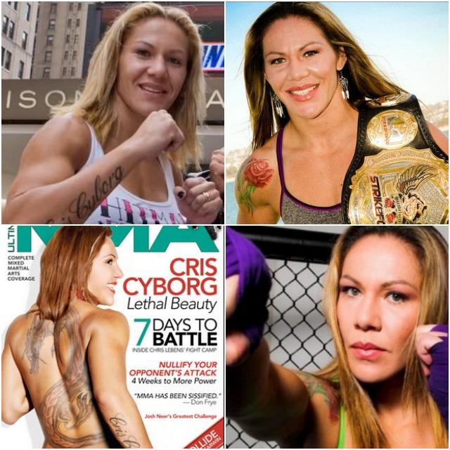 "When it comes to fame and fortune, Cris ""Cyborg"" Justino is way ahead."