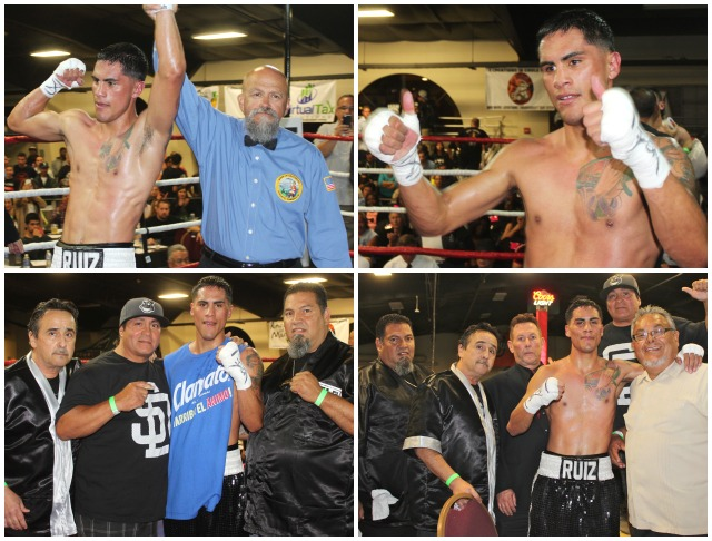 "To the victor goes the spoils and everyone wanted a photo with their hero Jorge ""Tito"" Ruiz. Photos: Jim Wyatt"