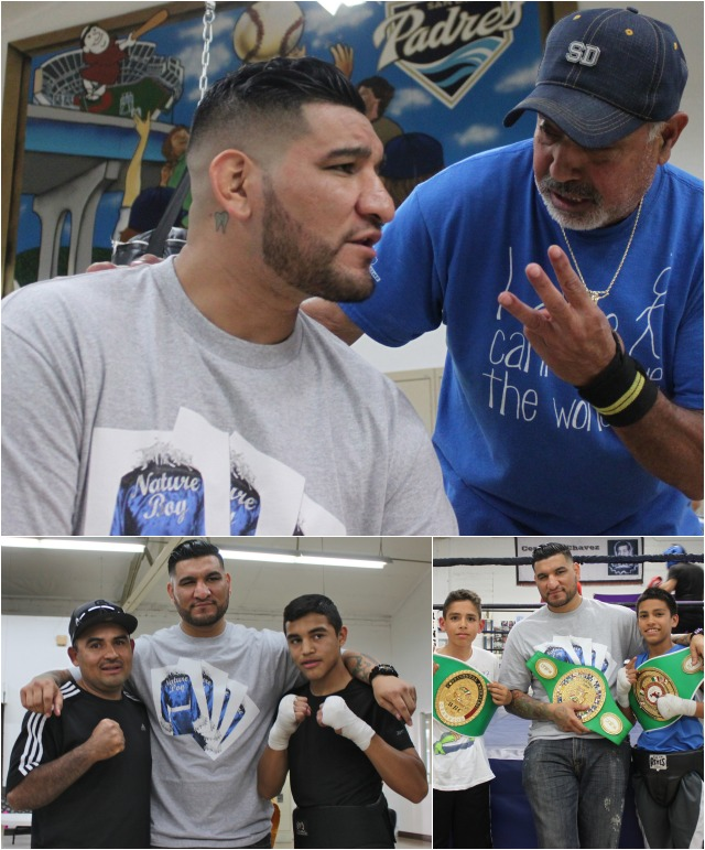 "Veteran coach Tony Esparza asks Chris Arreola, ""So you feel you can stop him by the third round?"" Coach Ivan Puente disagreed and he predicted that Stiverne"
