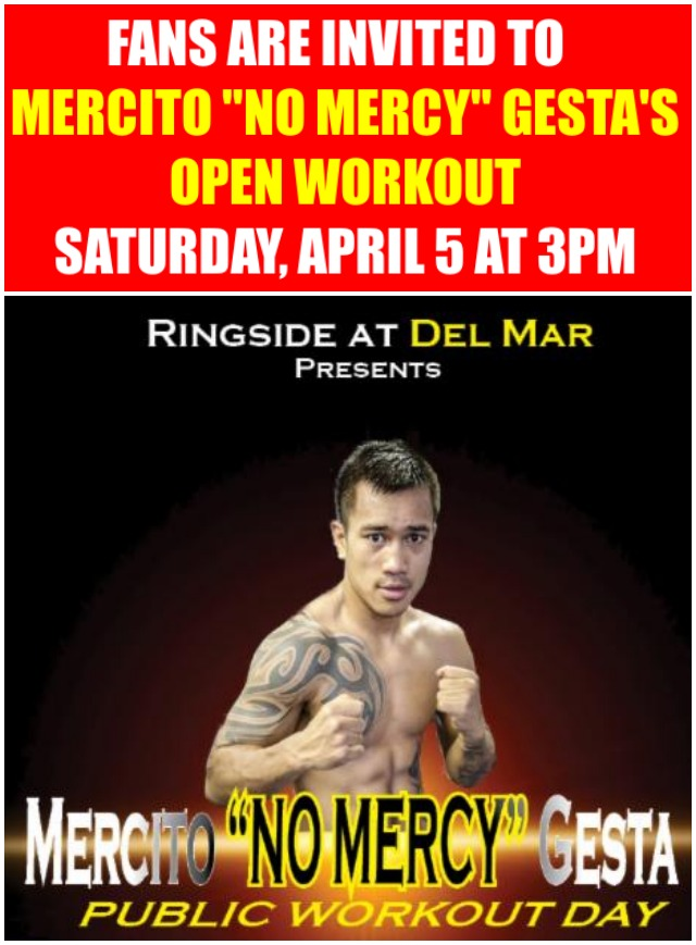 poster fr Gesta free public workout day