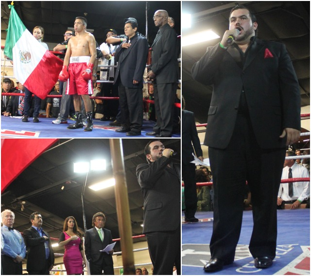 "Only the best will do. Imagine you've been commissioned to select a male and female vocalist to sing the National Anthems of Mexico and the Philippines and you've been told, ""Spare no expense, we want the best."" That's what the organizers of Friday's Del Mar boxing show did when they secured award winning tenor Gerardo Guytan to sing the Mexican National Anthem"