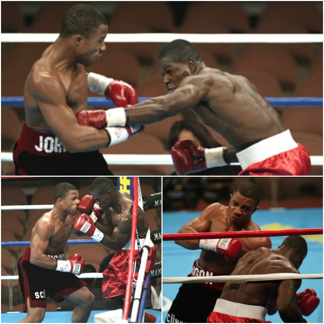 In one of his earlier losses we see Cromwell Gordon getting manhandled by his opponent Ronald Johnson.