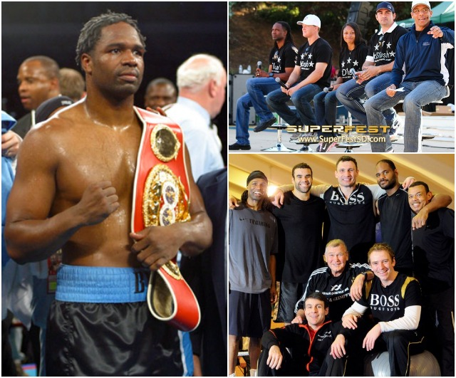 (bottom, right) On April 22, 2006, Chris Byrd traveled to the SAP-Arena, Mannheim, Baden-Wurttemberg, Germany to face the Wladimir Klitschko team.