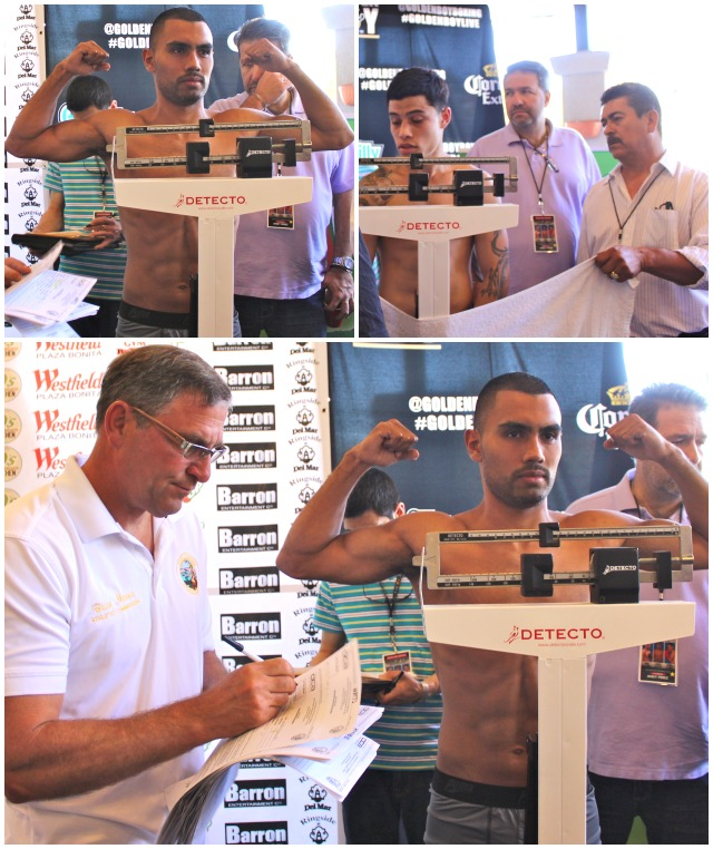 "The popular Roque ""Rocky"" Ramos weighed in at the exact weight but his opponent (name withheld) paid no attention to the required weight and in the end, their bout had to be cancelled."