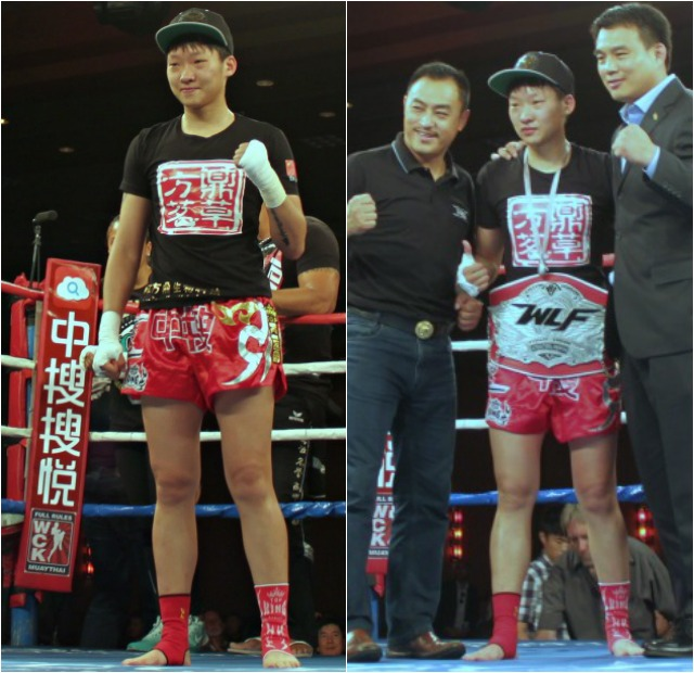 "After her bout against Lindsay Ball, it seemed everyone wanted a photo with Wang ""Chaoqi"" Kehan."