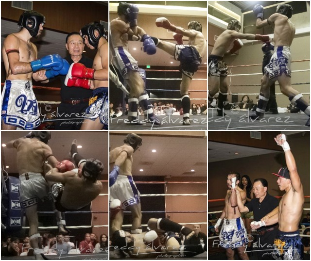 Bout 11 was an action-packed fight between Nick Mitsunori and Mitchell Rhodes. Photos: Freddy Alvarez