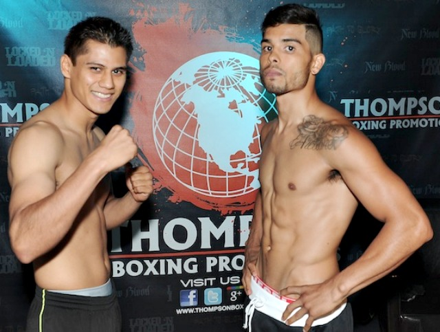 "Danny ""Baby Face Assassin"" Roman (8-2-1, 4 KOs) of Los Angeles and Jonathan ""Lil Thunder"" Arellano"