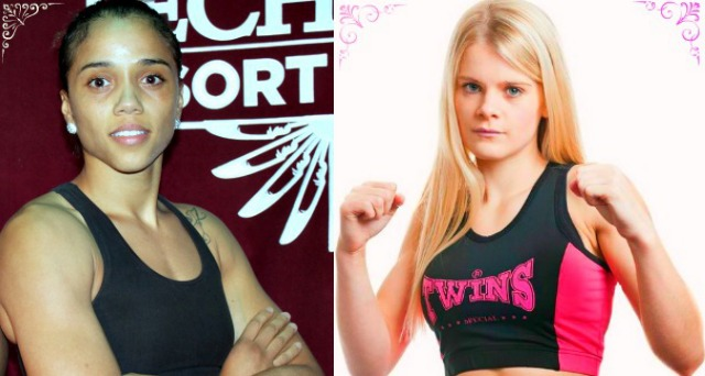 Jemyma Betrian vs. Christi Brereton fighting it out for the WBC Muaythai Women's Bantamweight World Title.